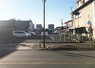 駐車場付近の写真